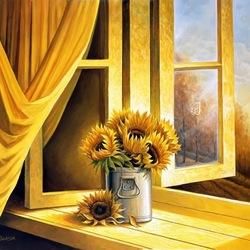 Пазл онлайн: Солнечный натюрморт