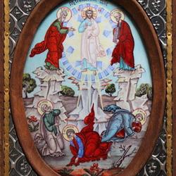Пазл онлайн: Икона Преображение Господне