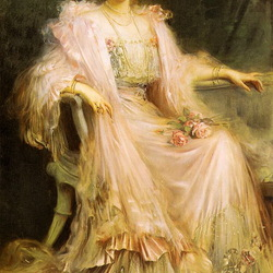Пазл онлайн: Сесилия,герцогиня Мекленбургская