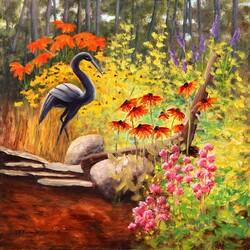 Пазл онлайн: Черный цветок сада