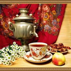 Пазл онлайн: Время чаепития