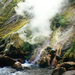 Пазл онлайн: Долина Гейзеров. Камчатка