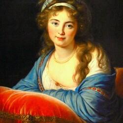 Пазл онлайн: Графиня Екатерина Васильевна Энгельгардт ( Скавронская)