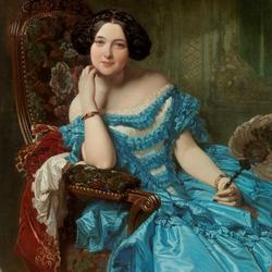 Пазл онлайн: Амалия де Льяно и Дотрес, графиня де Вильчес