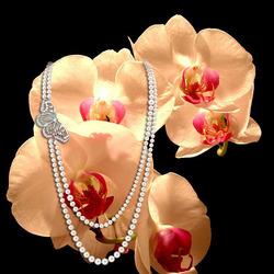 Пазл онлайн: Цветы и драгоценности