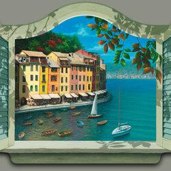 Пазл онлайн: Окно в рай