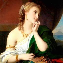 Пазл онлайн: Неаполитанская красавица