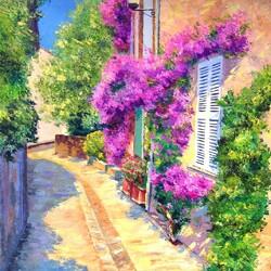 Пазл онлайн: Пейзажи Прованса