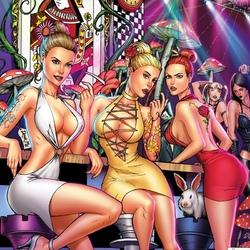 Пазл онлайн: Вечеринка в Стране Чудес