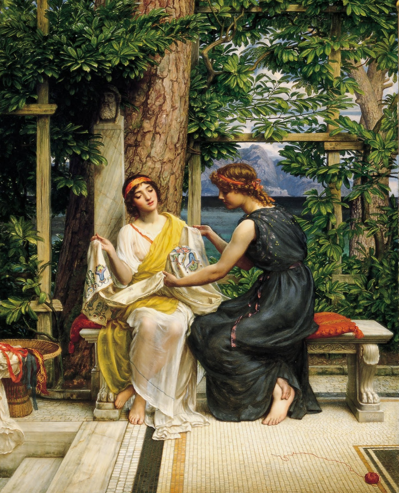 Image result for edward john poynter paintings
