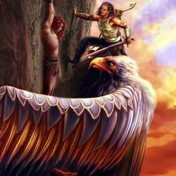 Пазл онлайн: Спасение Маэдроса Фингоном