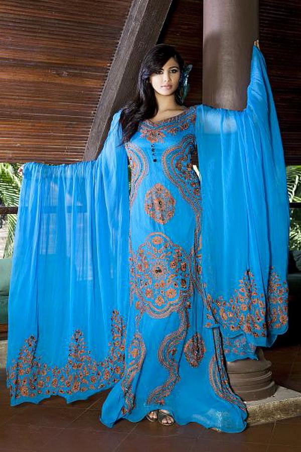 Женское восточное платье