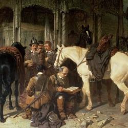 Пазл онлайн: Пуритане в Арунделе