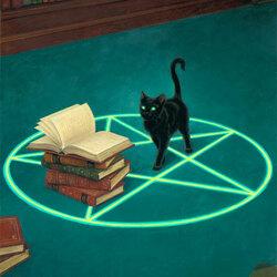 Пазл онлайн: Фамилиар ведьмы