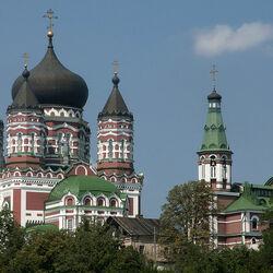 Пазл онлайн: Свято-Пантелеймоновский монастырь