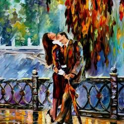 Пазл онлайн: Поцелуй