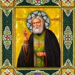 Пазл онлайн: Святой Серафим Саровский