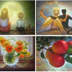 Пазл онлайн: Картины Игоря Майкова
