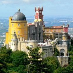 Пазл онлайн: Дворец Пена Португалия
