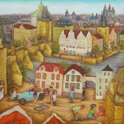 Пазл онлайн: Прага из детских снов