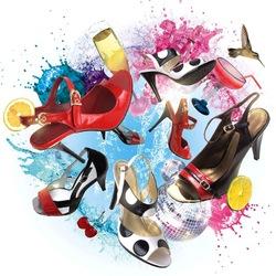Пазл онлайн: Туфельки