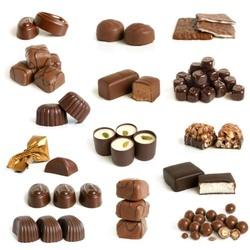 Пазл онлайн: Шоколадные конфеты