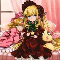 Пазл онлайн: Куклы