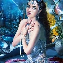 Пазл онлайн: Королева подводного царства