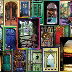 Пазл онлайн: Двери мира