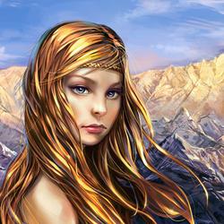 Пазл онлайн: Идриль в горах
