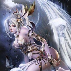 Пазл онлайн: Angel in Heaven \ Ангел в небесах