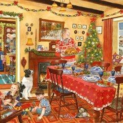 Пазл онлайн: Пять минут до Рождества