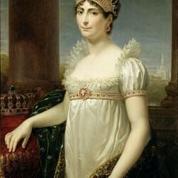 Пазл онлайн: Портрет императрицы Жозефины