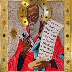 Пазл онлайн: Икона Святой священномученик Маркелл, папа Римский
