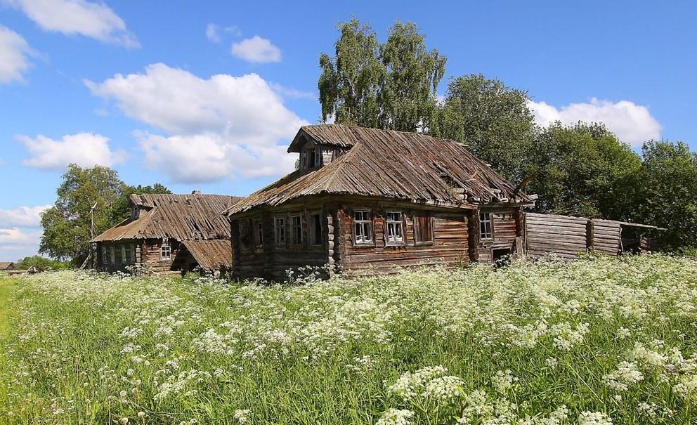 стал современным фото заброшенных деревень россии современном мире