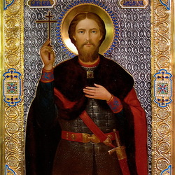 Пазл онлайн: Святой Благоверный князь Александр Невский