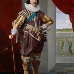 Пазл онлайн: Чарльз I