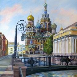 Пазл онлайн: Храм Спаса на крови в Санкт-Петербурге