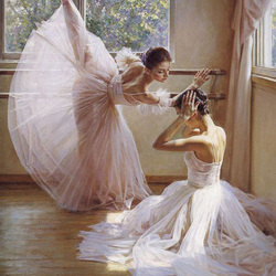 Пазл онлайн: Балетный класс