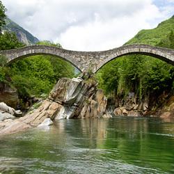 Пазл онлайн: Мост Лавертеццо