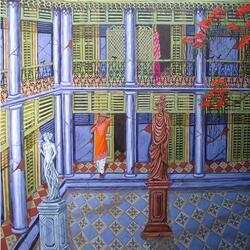 Пазл онлайн: Дворец на Бали