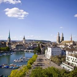 Пазл онлайн: Цюрих