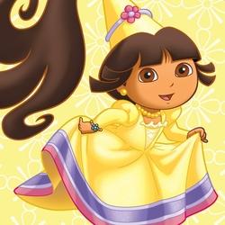 Пазл онлайн: Даша Путешественница - принцесса