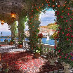 Пазл онлайн: Среднеземноморская терраса