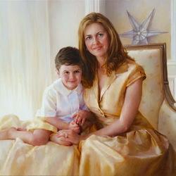 Пазл онлайн: Мать и сын