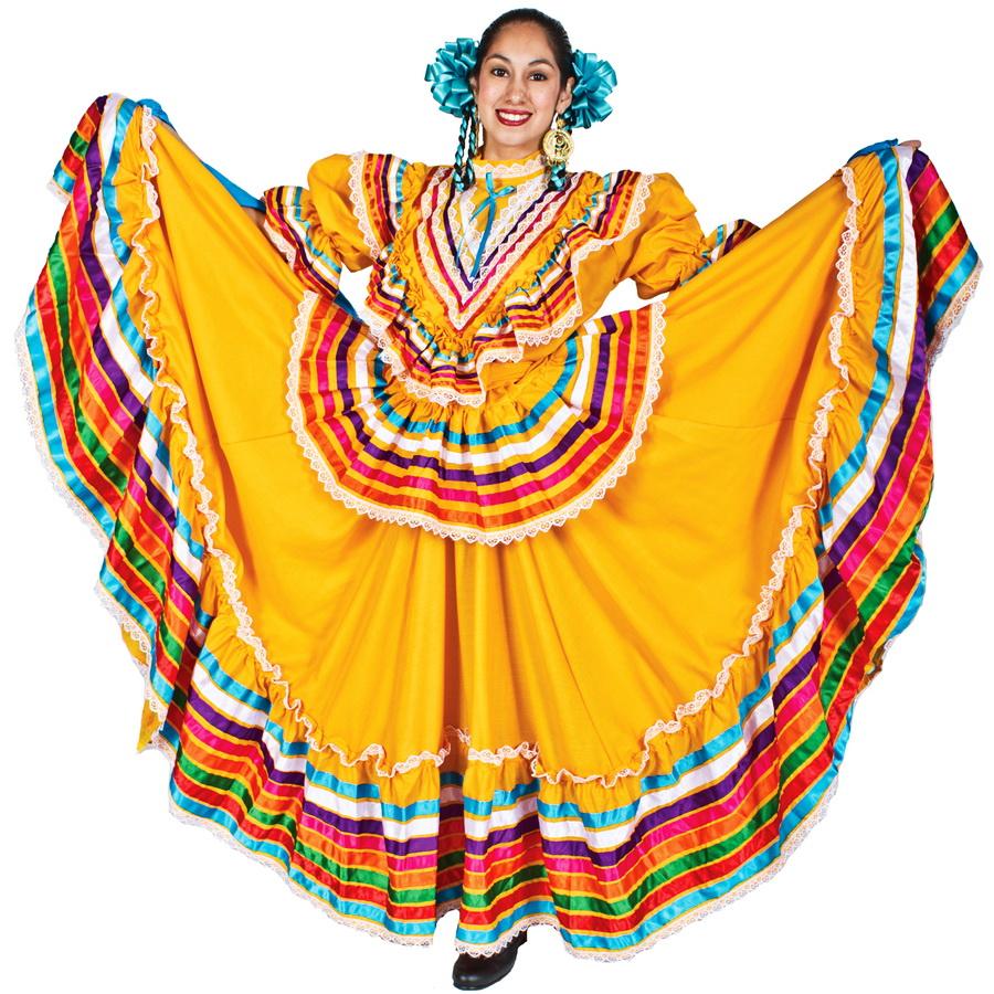 Мексиканский Национальный Костюм Женский
