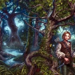 Пазл онлайн: Где деревья поют