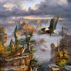 Пазл онлайн: Дикая природа