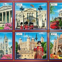 Пазл онлайн: Достопримечательности Лондона