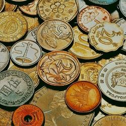 Пазл онлайн: Монеты разных стран